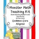 Monster Math Teaching Kit: Common Core Aligned Mini Unit(n