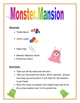 Monster Measurement Mansion