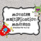 Monster Multiplication Mini Unit