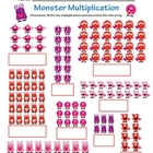 Monster Multiplication - Valentine's Day Array Review