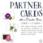 Monster Partner &amp; Group Cards
