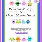 Monster Party: 3 Games with 5 Different Skills