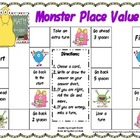 Monster Place Value - Common Core