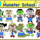 Monster School Clip Art