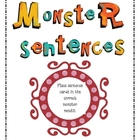 Monster Sentences (Periods, Exclamation Points, &amp; Question