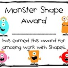 Monster Shape Award