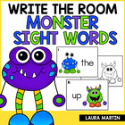 Monster Sight Words- Read and Write the Room