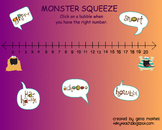 Monster Squeeze Game for Everyday Math
