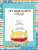 Monster Theme Classroom Parent Handbook