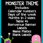 Monster Theme
