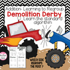 Monster Truck Mania & Demolition Derby { Double Digit Addition}