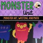 Monster Unit for Kindergarten and First Grade