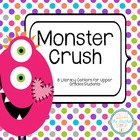 Monster Valentine Literacy Centers - Comprehension and Wor