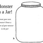 Monster Writing in a Jar