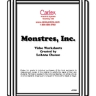 Monsters, Inc. Activity Worksheets for French