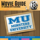 Monsters University: A Movie Film Viewing Guide
