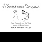 Monstrous Cursive Book - 2