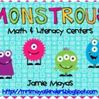 Monstrous Math & Literacy Centers