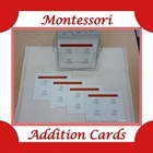 Montessori Addition Cards