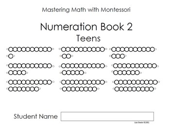 Montessori Bead Bar Book 2 - Teens