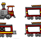 Montessori Classroom Name Train