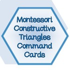Montessori Constructive Triangle Command Cards