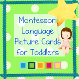 LANGUAGE TODDLER MONTESSORI EDUCATIONAL MATERIALS