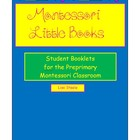 Montessori Little Books - Little Student Booklets to Accom