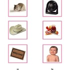 Montessori: Pink Series Short Vowel Pictures