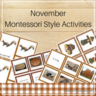 Montessori Style Activities for November