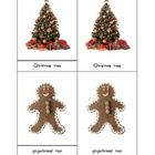 Montessori Three Part Cards - Christmas