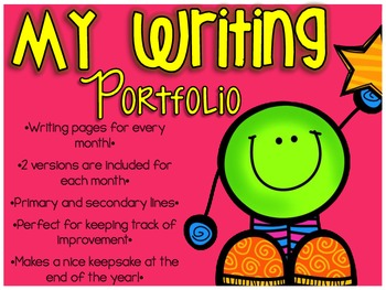 Month By Month Writing Portfolio