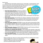Monthly Book Reports and Book Talks