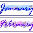 Monthly Bulletin Board Headers