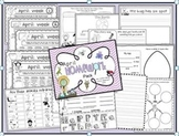 Monthly Homework Packs for Kindergarten-The complete Set