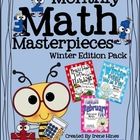 Monthly Math Masterpieces~Winter Edition Pack Of Math Puzzles