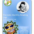 Monthly Reading Logs with Summer Reading Log  Bonus