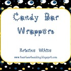 Monthly Seasonal Thematic Nugget Candy Bar Wrappers