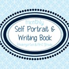 Monthly Self Portrait and Writing Book