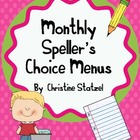 Monthly Speller&#039;s Choice Menus