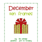 Monthly Ten Frames--December presents
