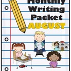 Monthly Writing Packet: August