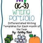 Monthly Writing Portfolio K-3
