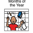 Month&#039;s of the Year- Adapted book for Autism