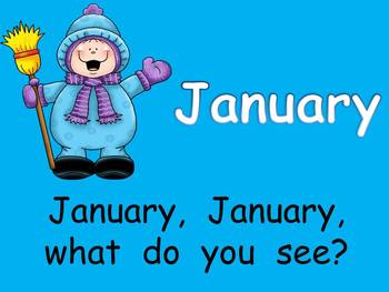 Months of the Year PowerPoint Presentation- Kindergarten o