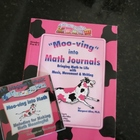"""Moo-ving"" into Math Journals and Moo-ving into Math CD"