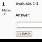 Moodle Math Questions