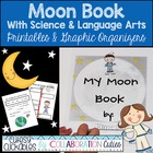 Moon Book with Science &amp; Language Arts Printables and Grap