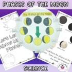 Moon Phases:  A Science Informational Text and Interactive