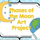 Moon Phases...Fun Art Project!!